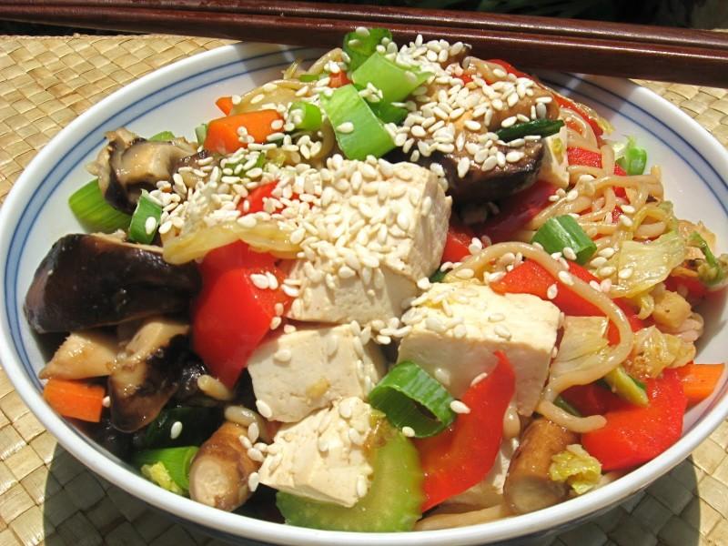 Nourishing Noodles -- Japchae