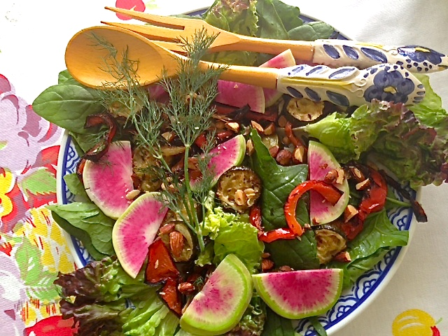 Plant Prescription Salad with Mustard and Dill