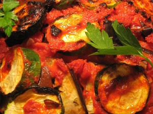 Briam – a Greek casserole of summer veggies