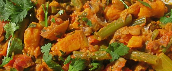African-American Sweet Potato and Peanut Stew