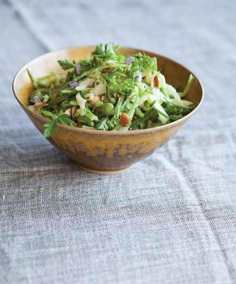 All-Green Spring Slaw