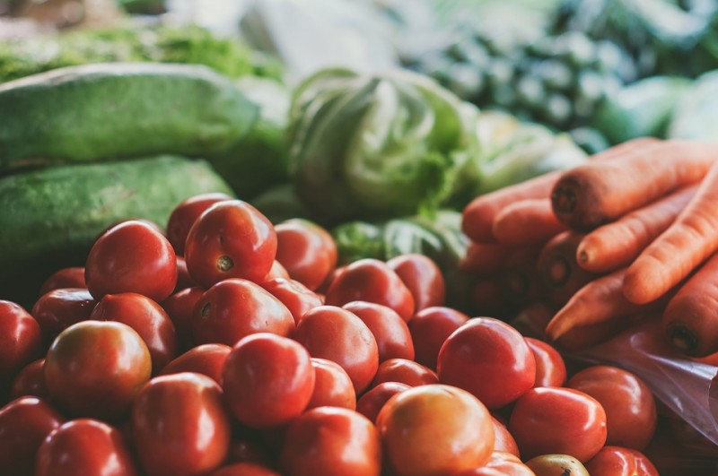 Local produce lightens your carbon load and guarantees you'll be eating fresh, vibrant produce.
