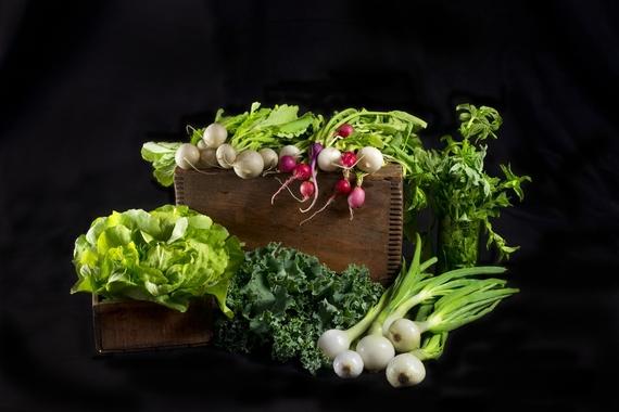 Paulette Phlipot photo of fresh veggies