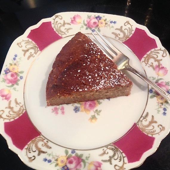Buckwheat and Almond Tea Cake
