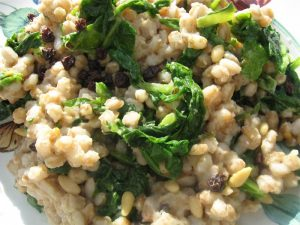 Wild Greens and Barley