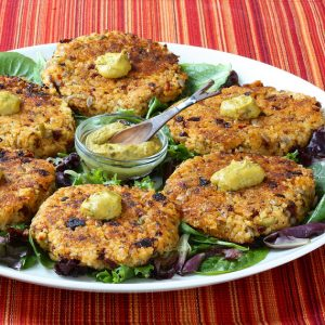 Manhattan Millet Cakes and the Veganuary pledge