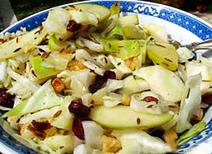 Wine-Braised Cabbage With Apples and Caraway