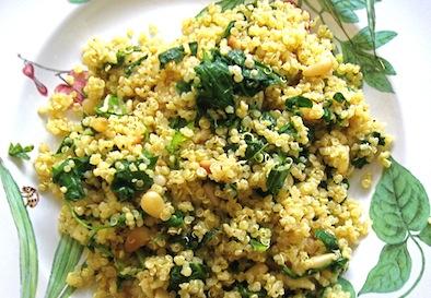 Kale and Quinoa