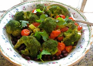 Soulfulvegan heirlooms broccoli sherry plate