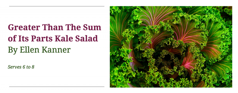 Download: Greater Than The Sum of Its Parts Kale Salad