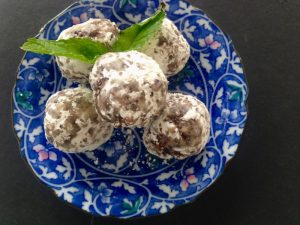 Mexican Chocolate Love Bites