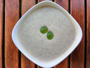 Ajoblanco recipe from La Cocina de Babette