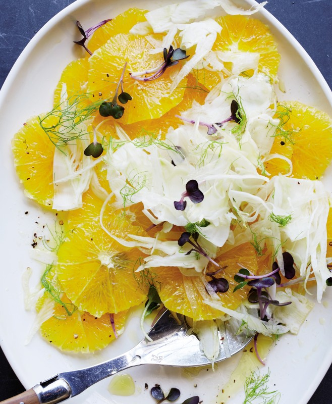 Classic orange and fennel salad