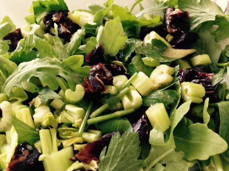 Medjool Date and Celery Salad