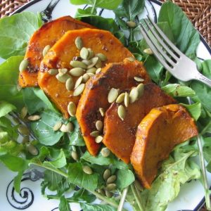 Sweet Potato Salad with Tahini and Ginger