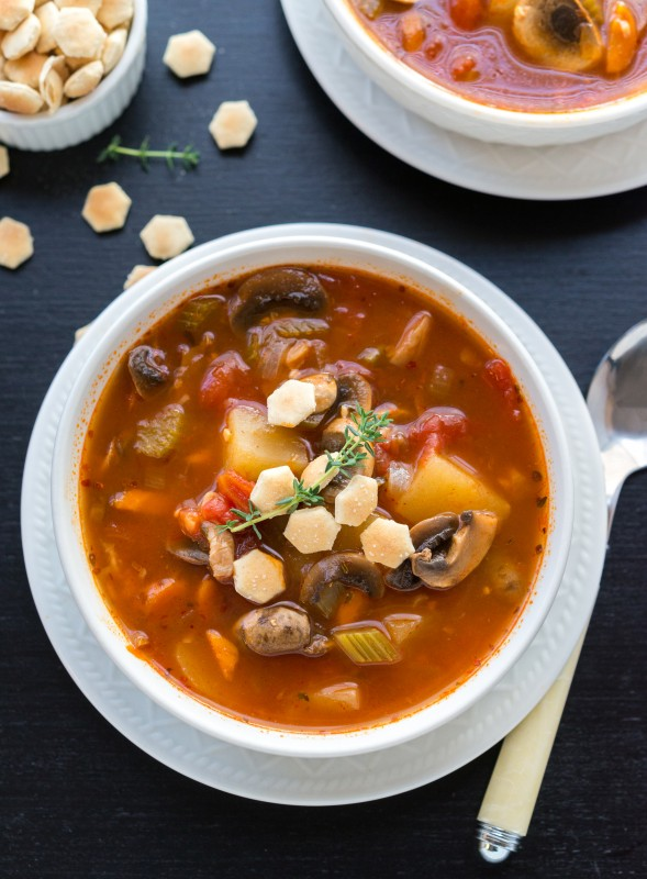 Manhattan Glam Chowder