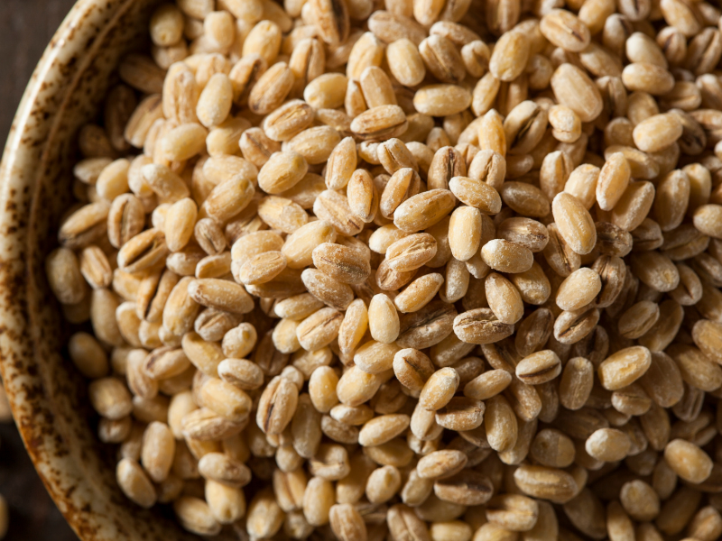 whole grains barley