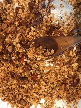 Tomato Jam and Smoked Paprika Granola
