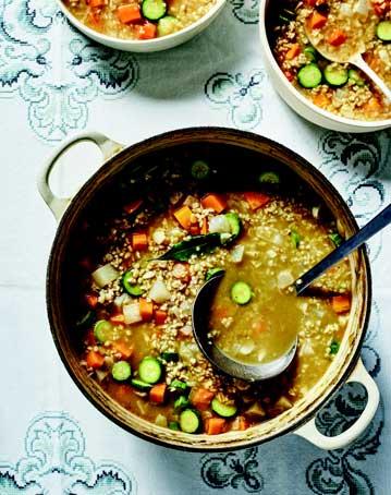 Freekeh Vegetable Soup