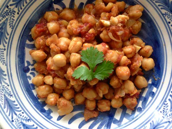 Chickpeas with Saffron