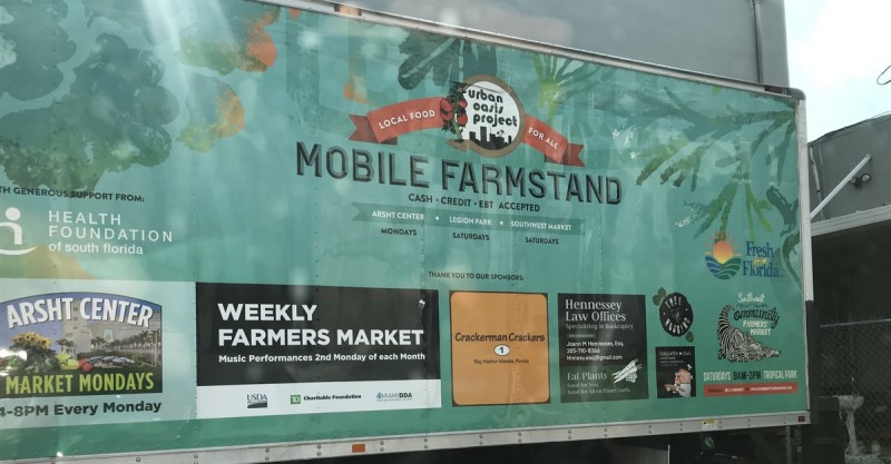 social justice with a mobile farmstand