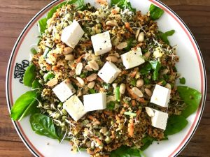 Go for the Gold Quinoa