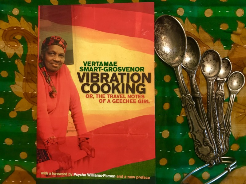 Cover of Vibration Cooking or The Travel Notes of a Geechee Girl by Vertamae Smart-Grosvenor